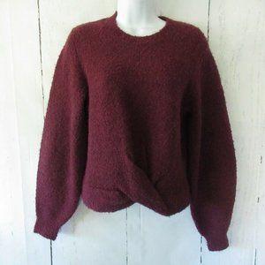 Joie Stavan Sweater Fuzzy Twist Front